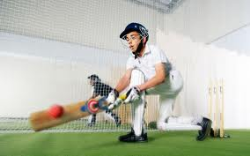 Practice nets in summer and winter