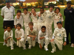 Under 11s victorious at Ealing, 2011